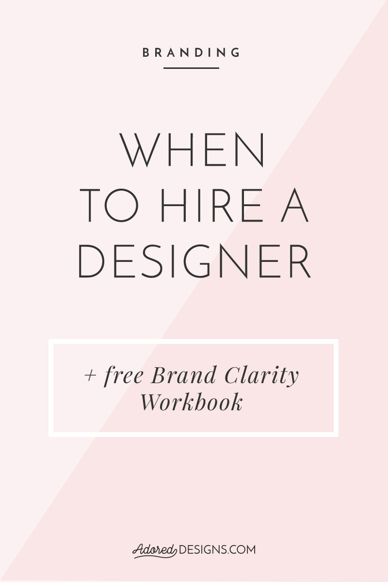 When to hire a designer for your business?