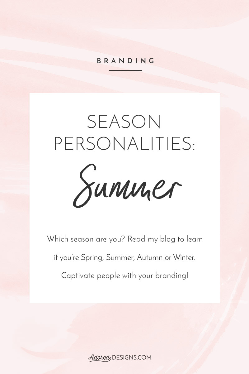 Now That You Know Basics Of Color Psychology And Learned About Spring Season Personality Let S Talk Summer