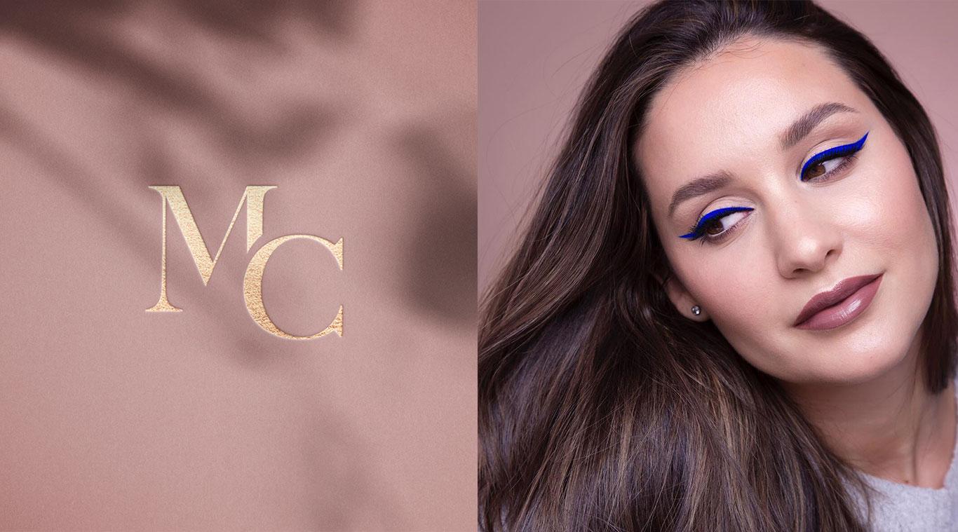 Brand Identity design for Maria Catala - top Spanish makeup artist