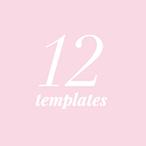 12 templates