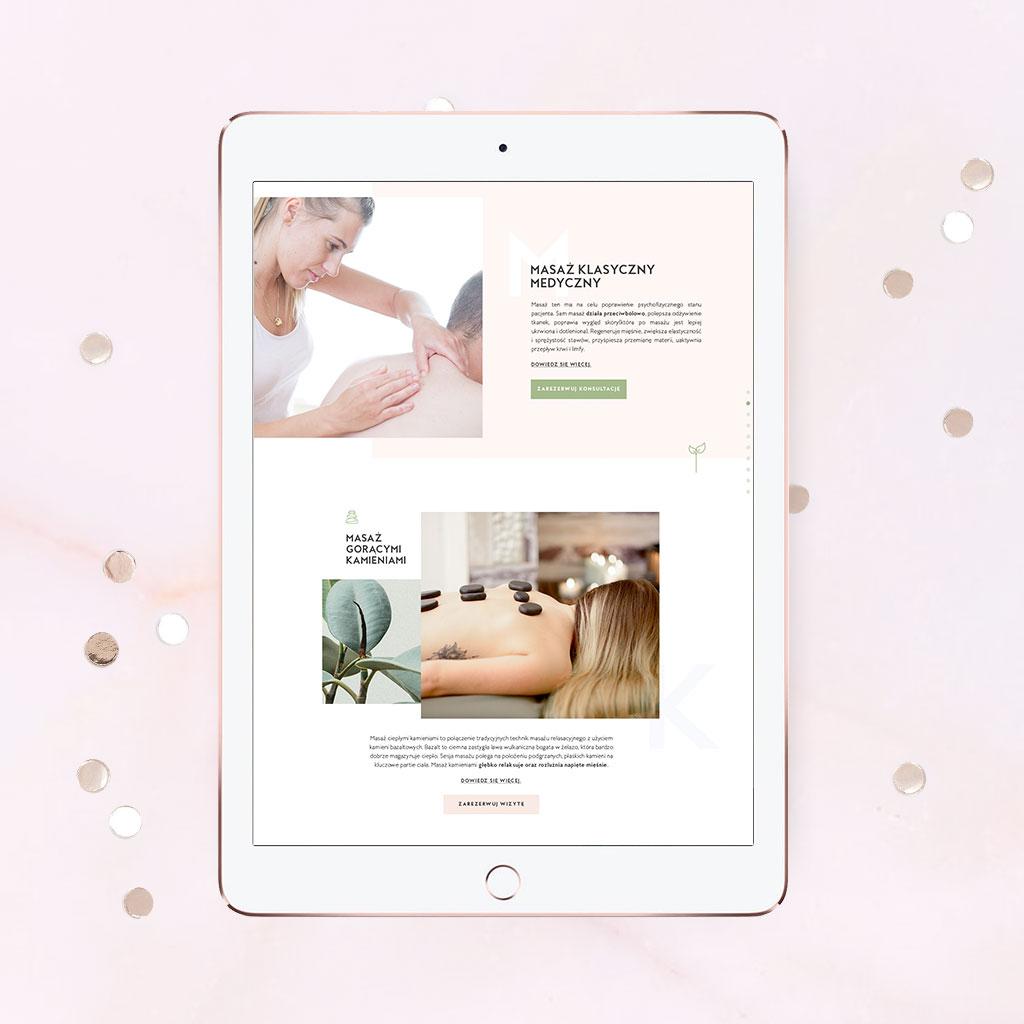 Just launched! Emilia Massage Studio