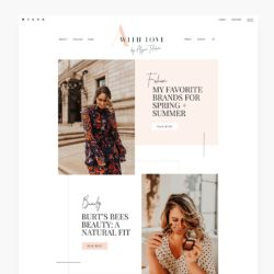 Just launched – Lifestyle blog design for Alyssa Taliaferro