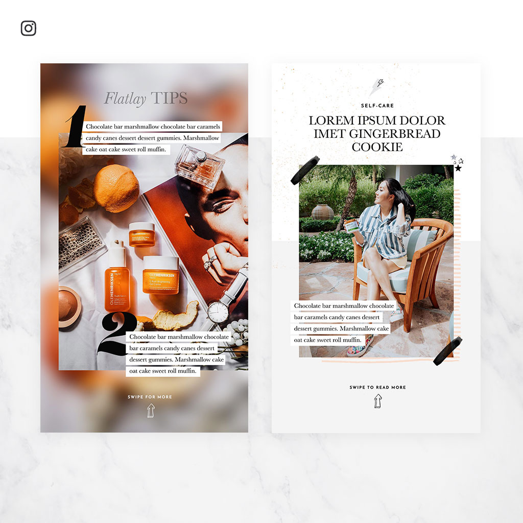 Molly Larsen brand + blog design