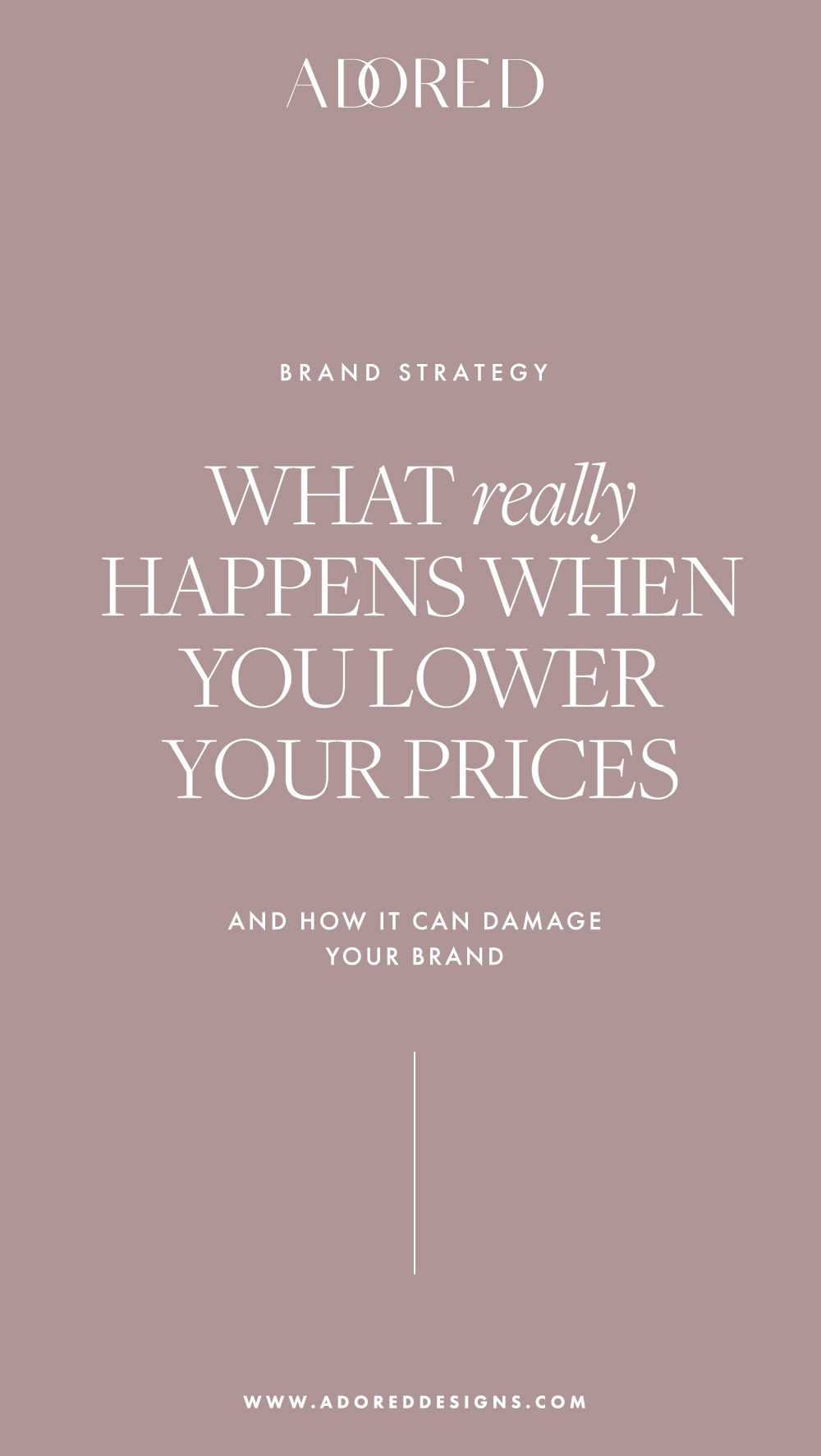 Premium brands: what really happens when you lower your prices