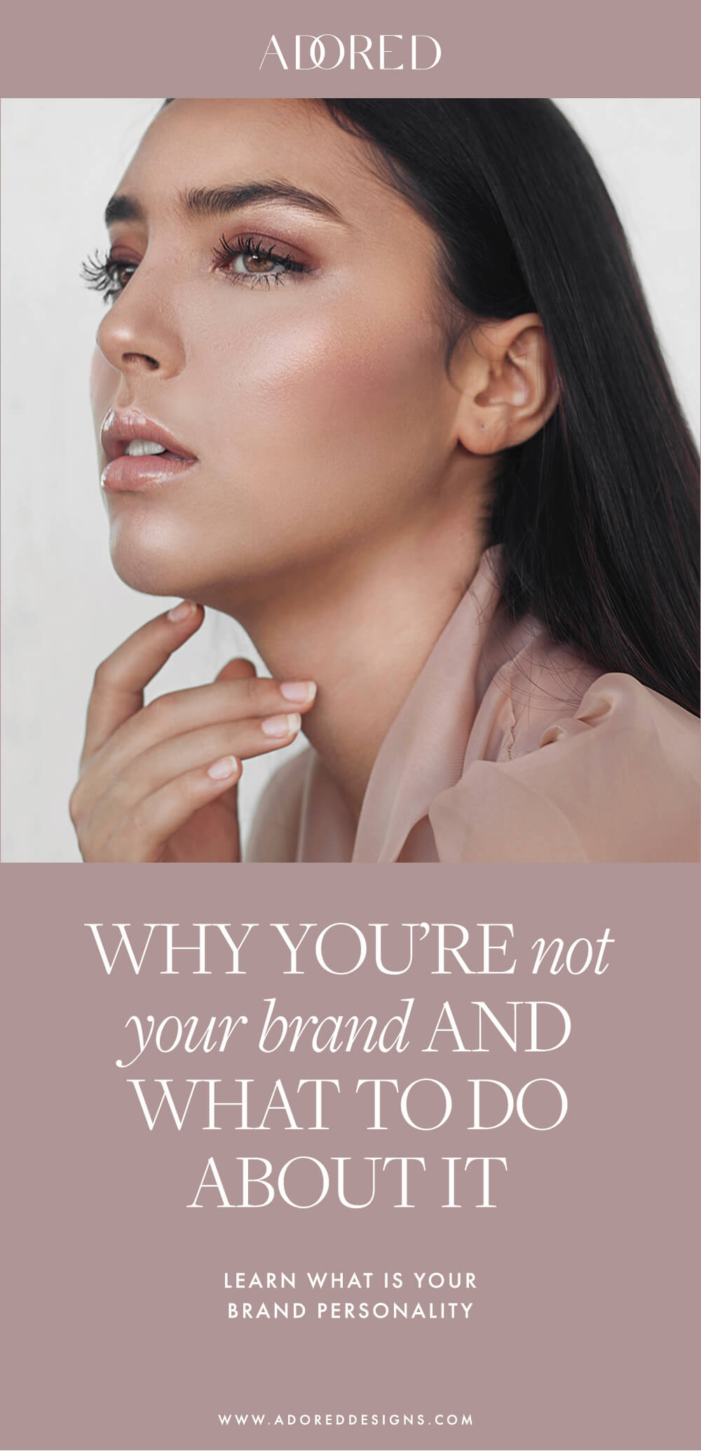 Brand personality: why you're not your brand and what to do about it?